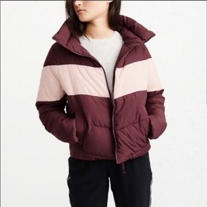 NWT Abercrombie & Fitch puffer